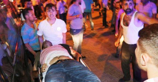 Arefe Gecesi Kanlı Baskın!..