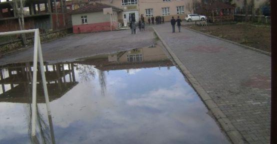 Aşırı Yağmur Zarara Yol Açtı