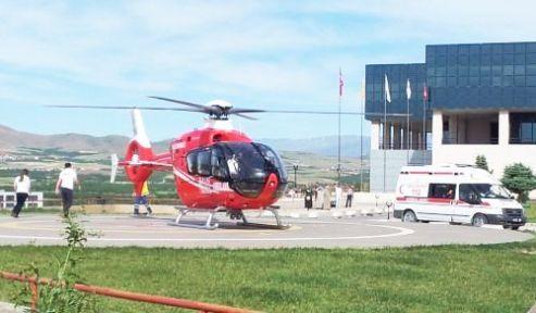 Karaciğer Nakli İçin Helikopterle Getirildi