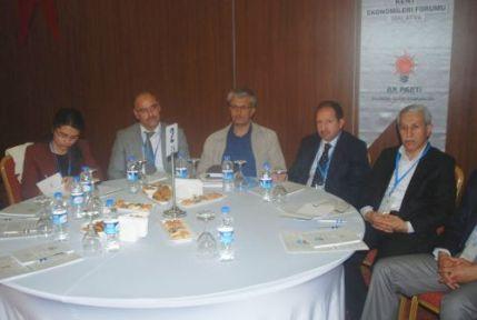Kent Ekonomileri Forumu Yapıldı