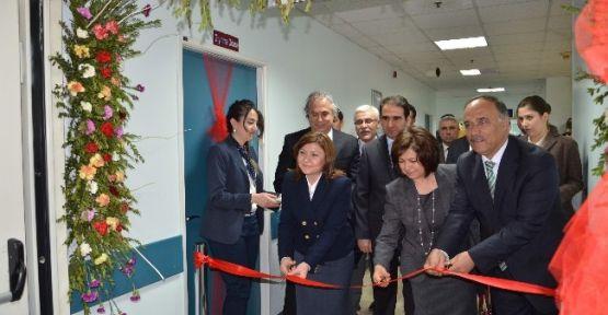 TÖTM'de Yenilenen Üniteler Hizmete Açıldı