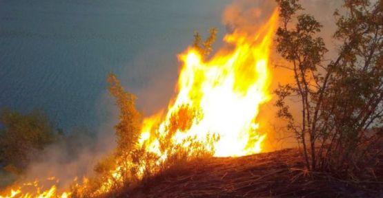 Yangın Güçlükle Kontrol Altına Alındı
